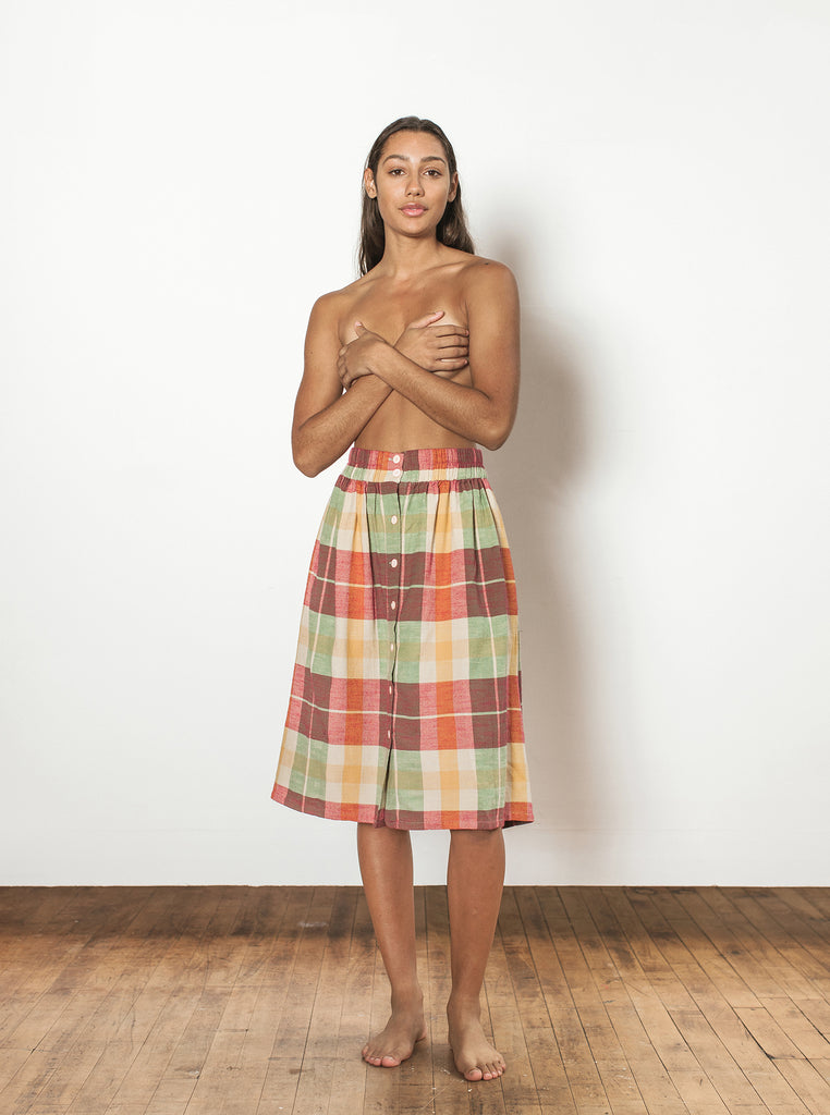 sadie skirt | summer 20 | XXS-2X - daiquiri