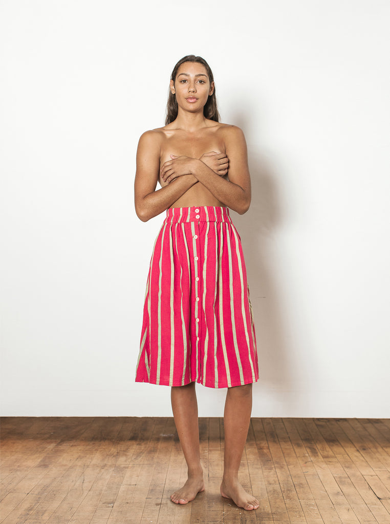 sadie skirt | summer 20 | XXS-2X - watermelon