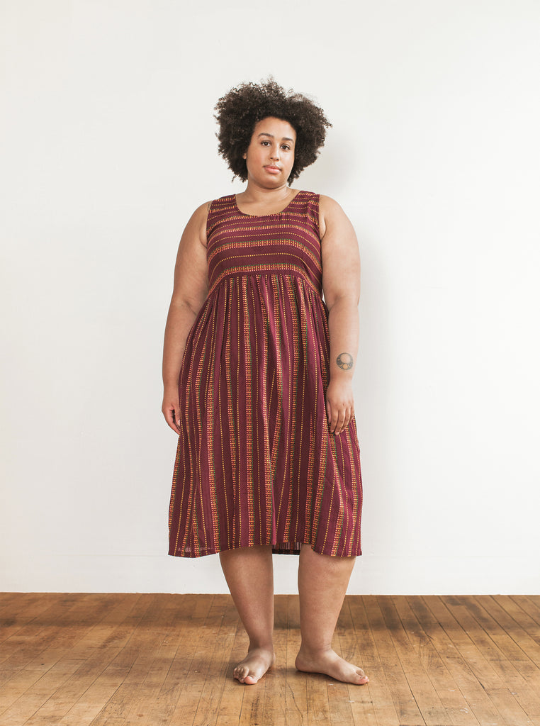 rara midi | additional sizes available - garnet