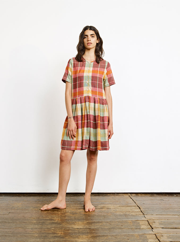 tate dress | summer 20 | XXS-2X - daiquiri