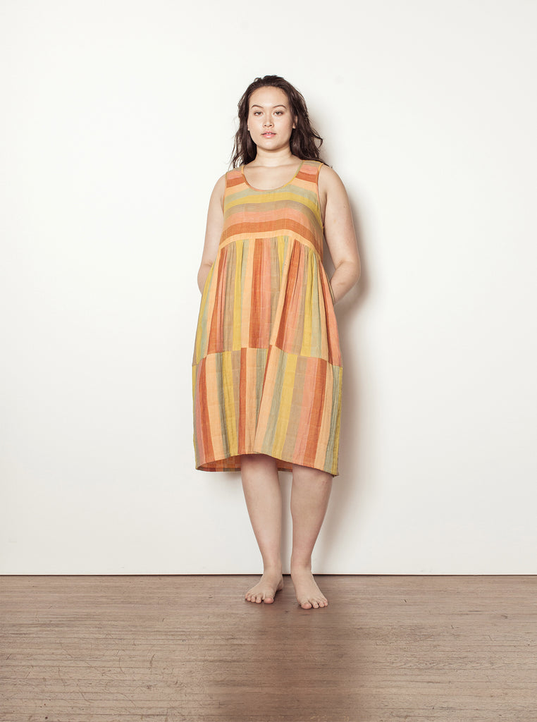 teasdale dress | spring 20 | XXS-2X - sorbet