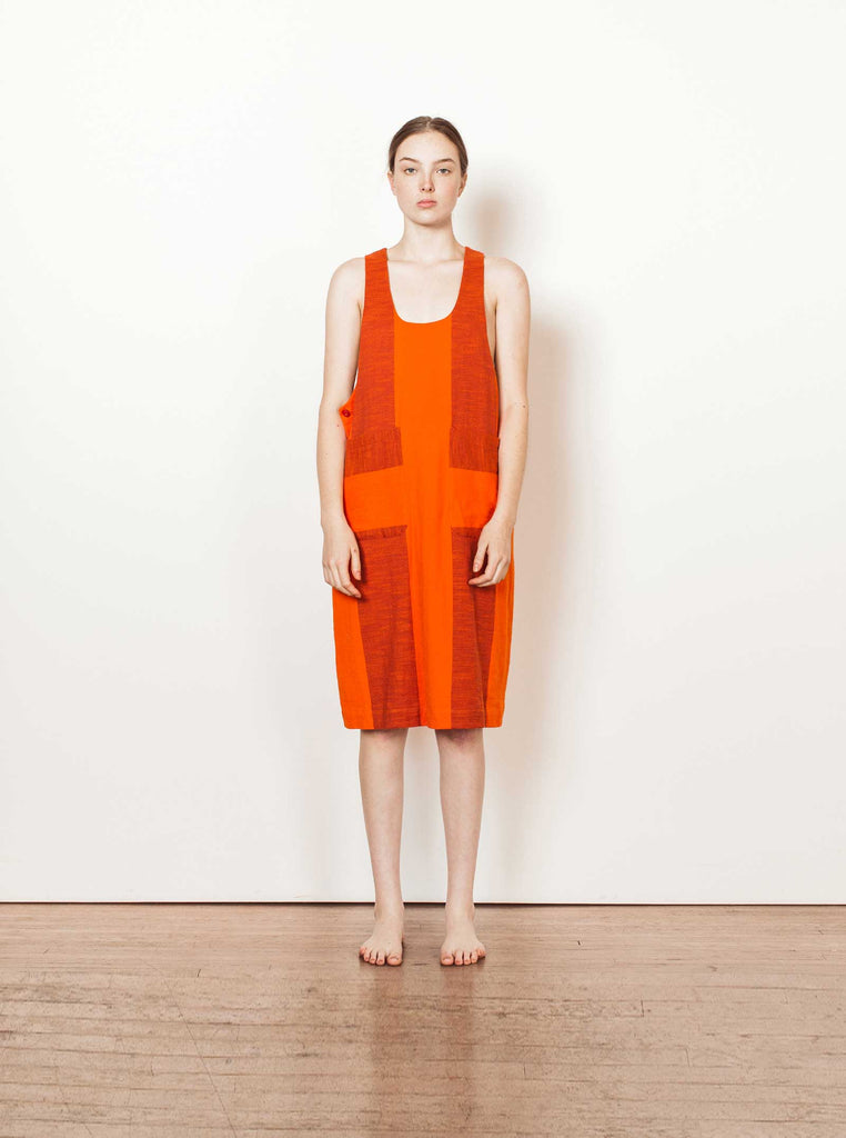 thelma dress | fall 20 | XXS-2X - tomato