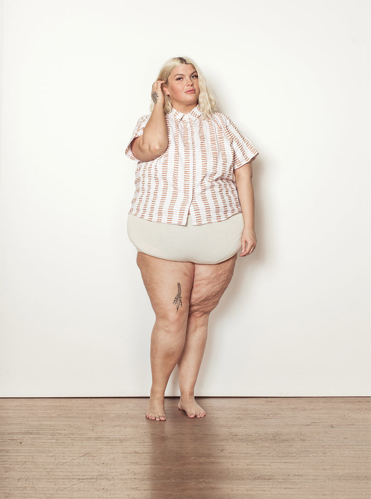 winnie top | summer 20 | XXS-4X - chalk