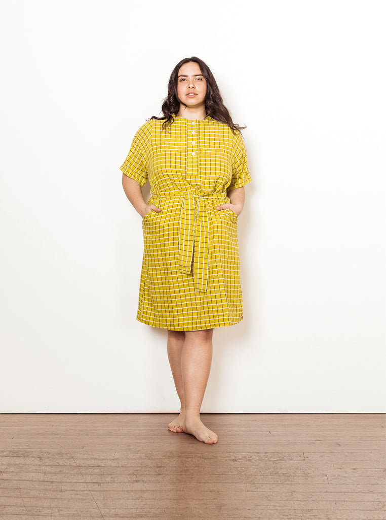 arena dress | summer 20 | XXS-4X - chartreuse