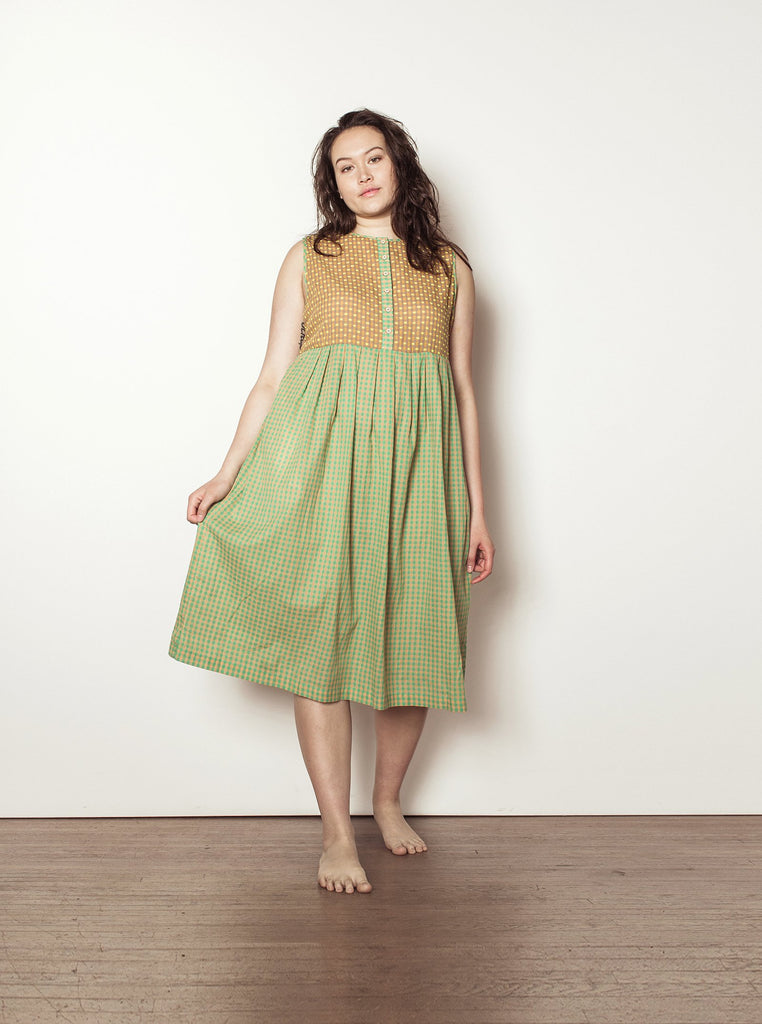 cliff dress | spring 20 | XXS-2X - cantaloupe