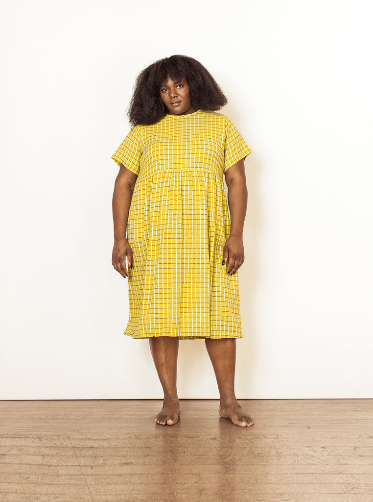lily dress | summer 20 | XXS-4X - chartreuse