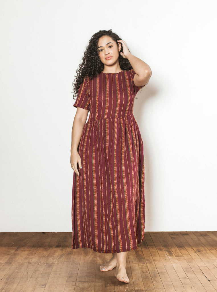 rosa dress | fall 19 | XXS-2X - garnet