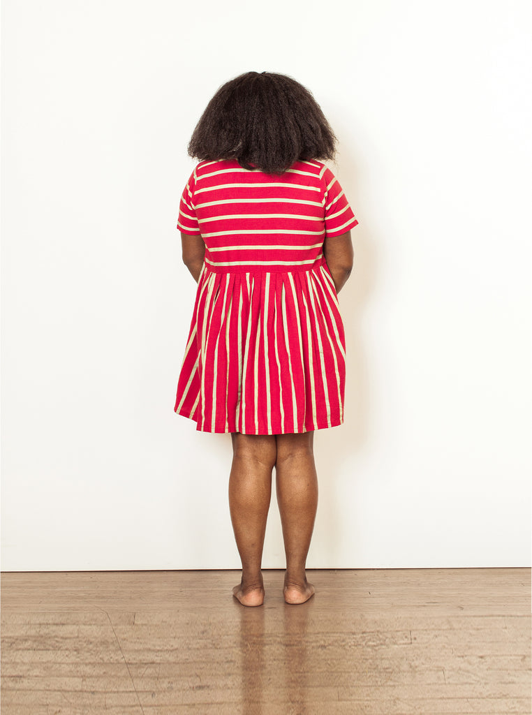 tate dress | summer 20 | XXS-2X - watermelon