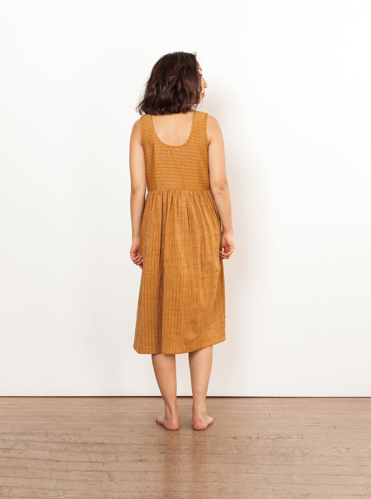teasdale dress | spring 20 | XXS-2X - umber