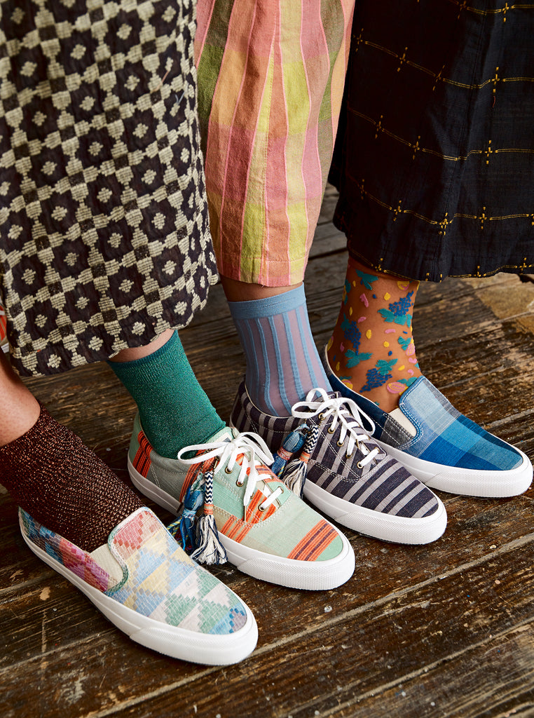 ace&jig X keds | channel lace up - channel