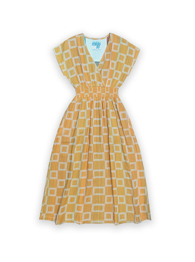 faye dress | spring 20 | XXS-4X - citrus