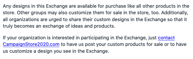 Custom Exchange