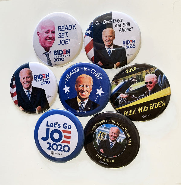 Joe Biden Collector Set of 7 pins