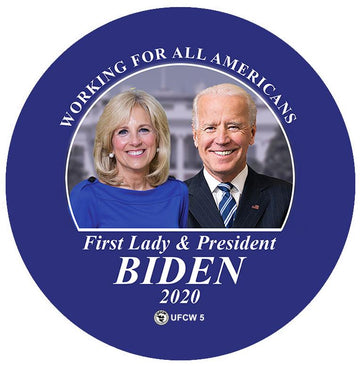 Working For All Americans Pin