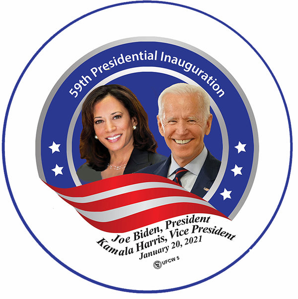 Biden-Harris Commemorative Pin