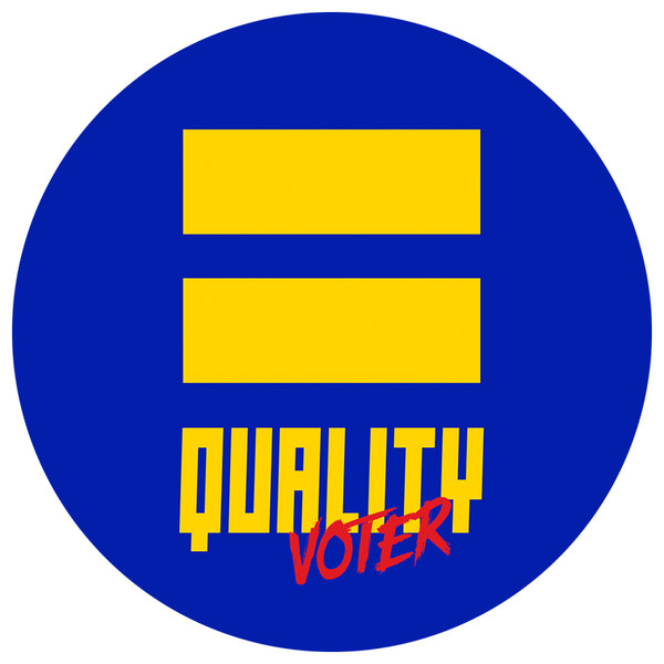 Equality Voter Pin
