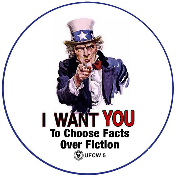 Uncle Sam Wants You Pin