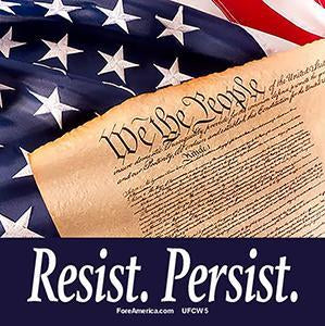 Resist, Persist, We The People (Tee)