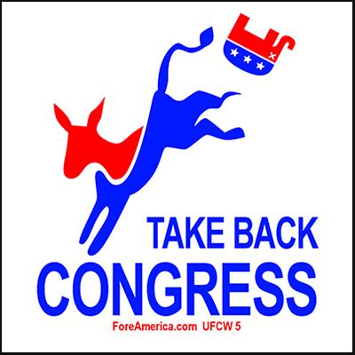 Take Back Congress Magnet
