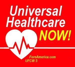 Universal Healthcare NOW (Tee)