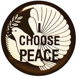 I Choose Peace Pin