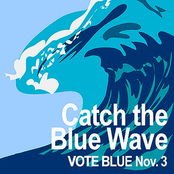 Catch The Blue Wave Magnet