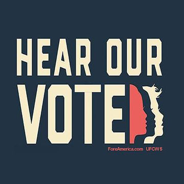 Hear Our Vote Magnet