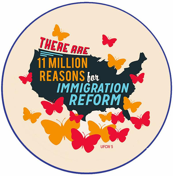 Immigration Reform Pin