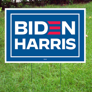 Biden-Harris Victory Yard Sign & Stakes