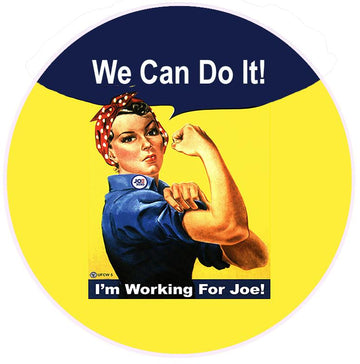 We Can Do It Pin