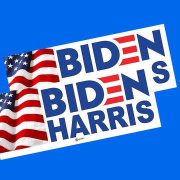 Biden-Harris Small 2 Pack Window Sign