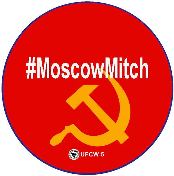 Moscow Mitch Pin