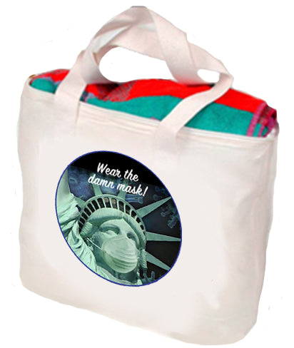 Wear The Damn Mask Tote
