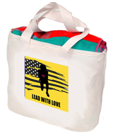 Lead WIth Love Tote
