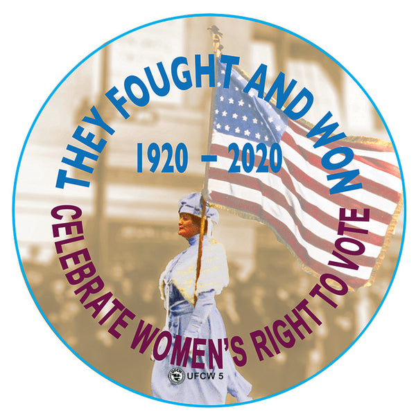 Women's Right To Vote Pin
