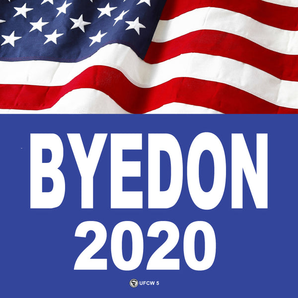 BYEDON Bumper Sticker