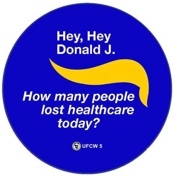 Hey, Hey Healthcare Pin
