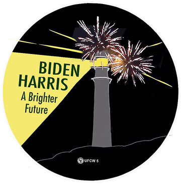 Biden-Harris A Brighter Future Pin