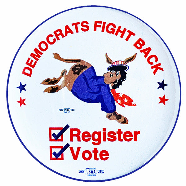 Democrats Fight Back Pin