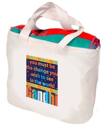 Gandhi: Be The Change You Wish To See Tote
