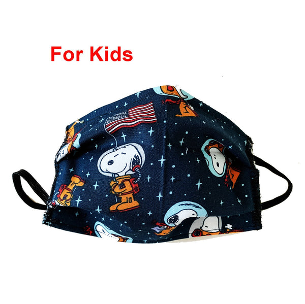 Snoopy In Space Mask for Kids