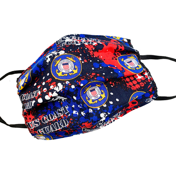 Military Tribute Mask-US Coast Guard
