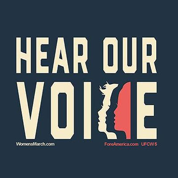 Hear Our Voices Magnet