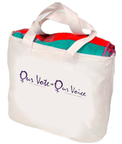 Our Vote Our Voice Tote