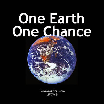 One Earth One Chance Magnet