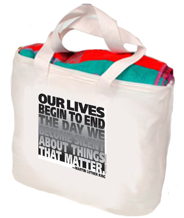Martin Luther King-Speak Out Tote
