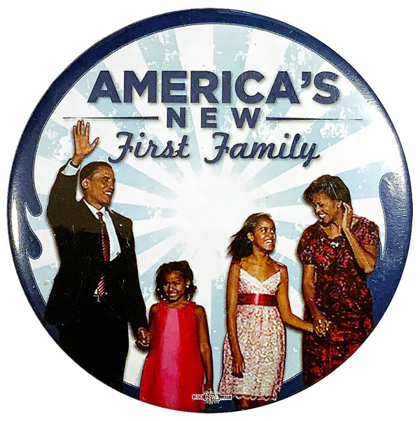 America's New First Family Pin