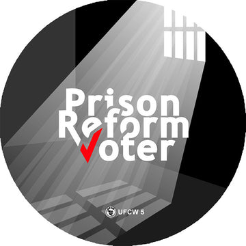 Prison Reform Voter Pin