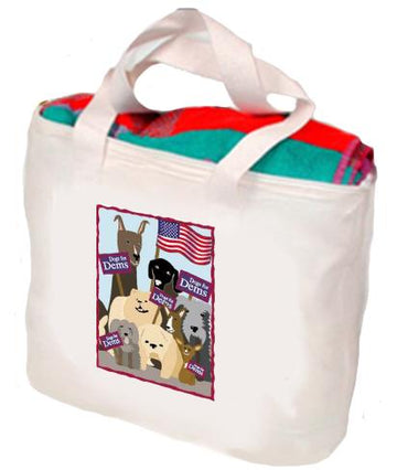 Dogs For Dems Tote