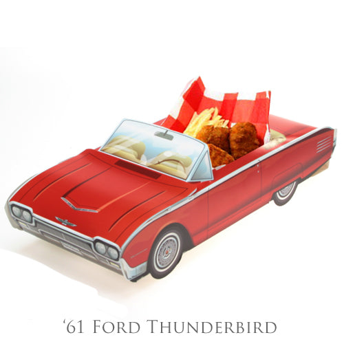 Favor Box - '61 Ford Thunderbird (5 per Pack)